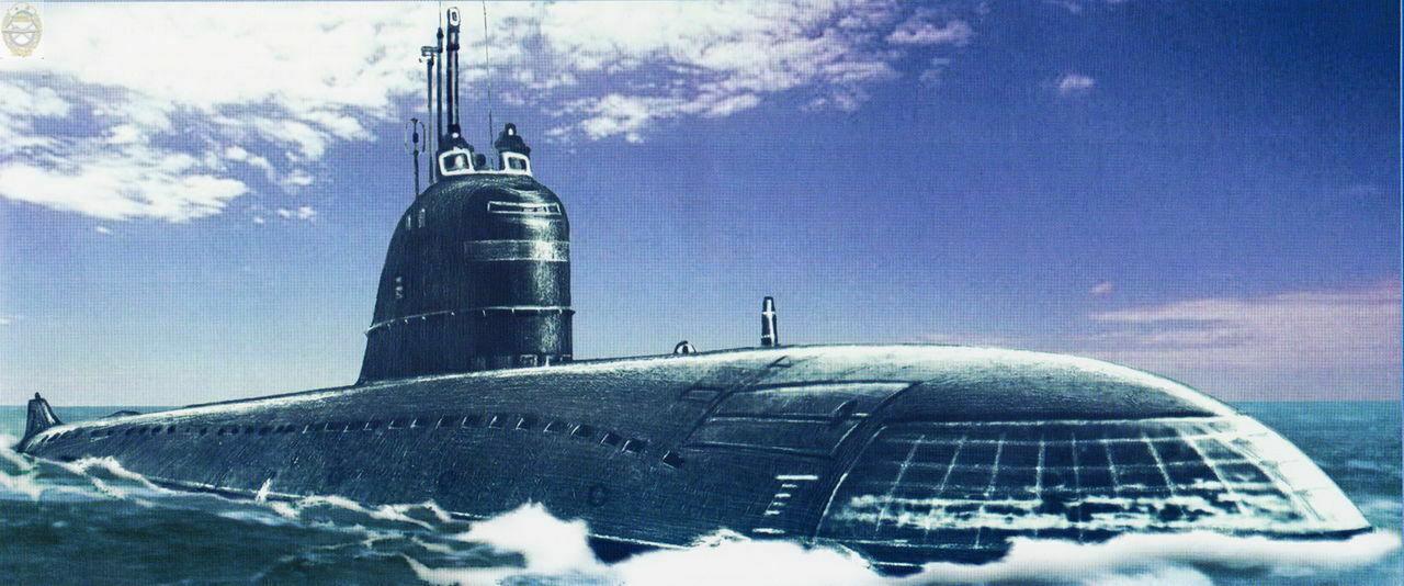 первое место подводная лодка